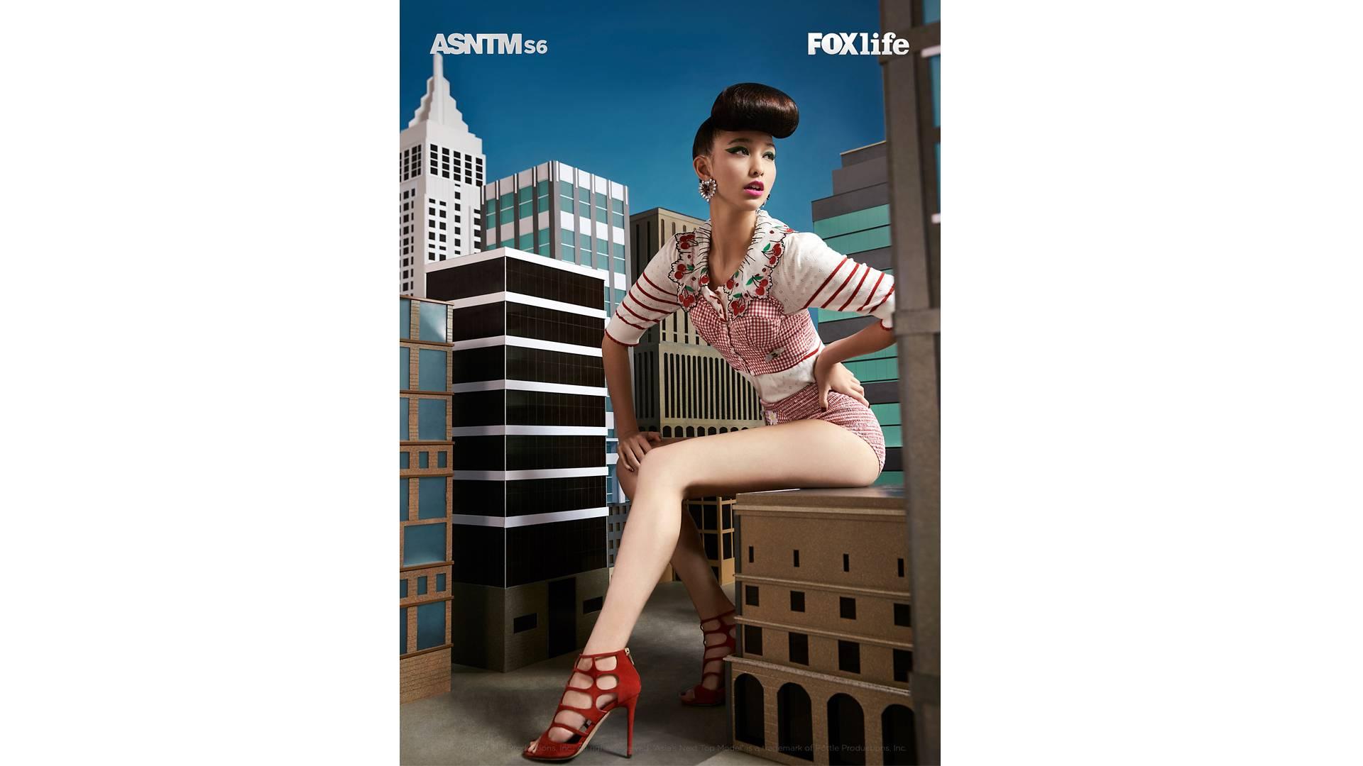 Dana Slosar won her second best photo in Ep 7's fashion shoot for Harper'z Bazaar Thailand