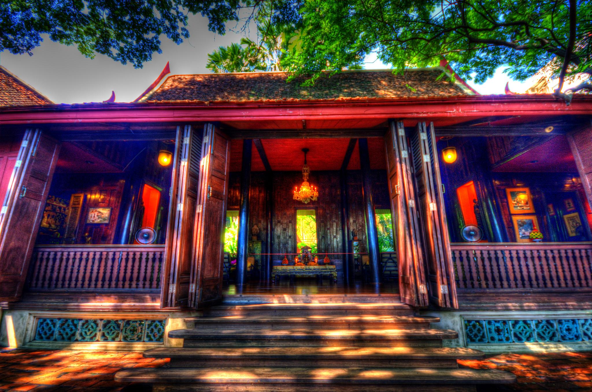 Jim Thompson House Thai House Museum - James H W Thompson Foundation