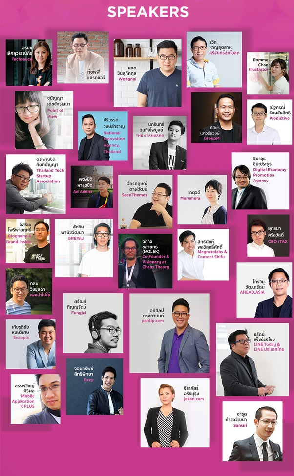 "Sansiri and BCPG Present Creative Talk Conference 2019 ""2019 Trends & Creative Revolution"""
