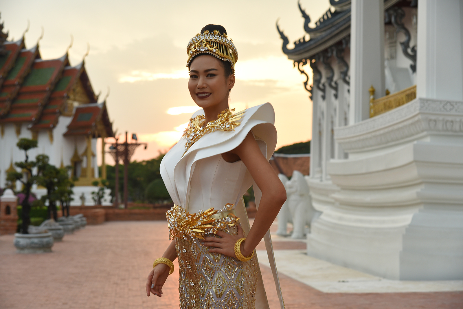"""Chang the Icon of Siam"" Thai National Costume Ready for Miss Universe Thailand"